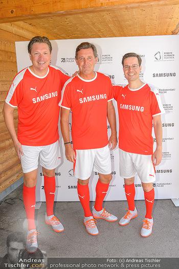 Samsung Charity Cup - Alpbach - Di 27.08.2019 - Michael STIX, Michael HANKE, Marvin PETERS96