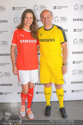 Samsung Charity Cup - Alpbach - Di 27.08.2019 - Natalia CORRALES-DIEZ, Konrad PLAUTZ98