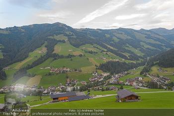 Weinverkostung - Böglalm, Alpbach - Mi 28.08.2019 - Ausblick über Inneralpbach, Alpbachtal7