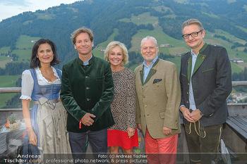 Weinverkostung - Böglalm, Alpbach - Mi 28.08.2019 - Silvia GRÜNBERGER, Trevor D. TRAINA, Kathryn HALL, Wolfgang ROS16