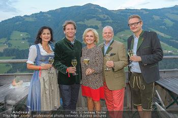 Weinverkostung - Böglalm, Alpbach - Mi 28.08.2019 - Silvia GRÜNBERGER, Trevor D. TRAINA, Kathryn HALL, Wolfgang ROS17