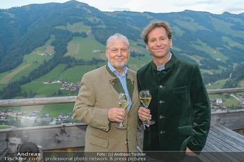 Weinverkostung - Böglalm, Alpbach - Mi 28.08.2019 - Trevor D. TRAINA, Wolfgang ROSAM20