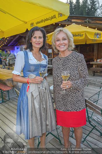 Weinverkostung - Böglalm, Alpbach - Mi 28.08.2019 - Silvia GRÜNBERGER, Kathryn HALL22