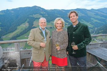 Weinverkostung - Böglalm, Alpbach - Mi 28.08.2019 - Trevor D. TRAINA, Kathryn HALL, Wolfgang ROSAM26