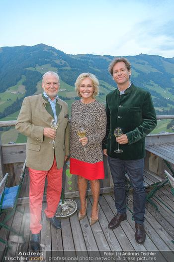 Weinverkostung - Böglalm, Alpbach - Mi 28.08.2019 - Trevor D. TRAINA, Kathryn HALL, Wolfgang ROSAM27