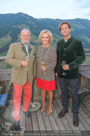 Weinverkostung - Böglalm, Alpbach - Mi 28.08.2019 - Trevor D. TRAINA, Kathryn HALL, Wolfgang ROSAM28