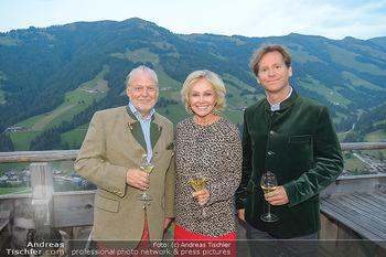 Weinverkostung - Böglalm, Alpbach - Mi 28.08.2019 - Trevor D. TRAINA, Kathryn HALL, Wolfgang ROSAM29