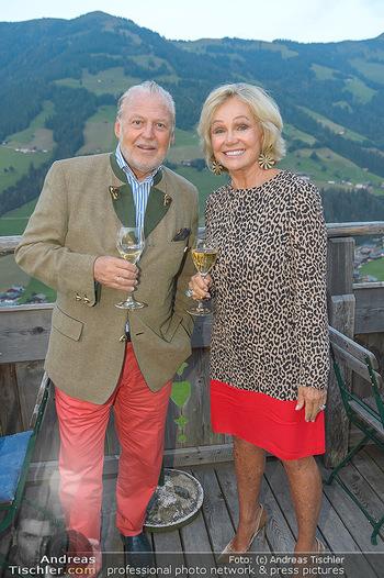 Weinverkostung - Böglalm, Alpbach - Mi 28.08.2019 - Kathryn HALL, Wolfgang ROSAM31