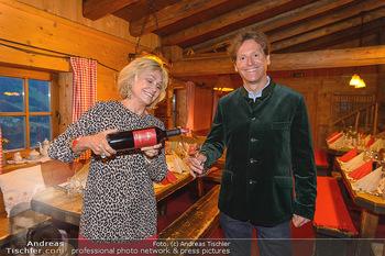Weinverkostung - Böglalm, Alpbach - Mi 28.08.2019 - Kathryn HALL, Trevor D. TRAINA40