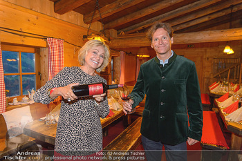 Weinverkostung - Böglalm, Alpbach - Mi 28.08.2019 - Kathryn HALL, Trevor D. TRAINA41