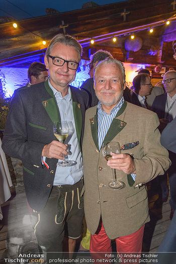 Weinverkostung - Böglalm, Alpbach - Mi 28.08.2019 - Gerald GERSTBAUER, Wolfgang ROSAM80