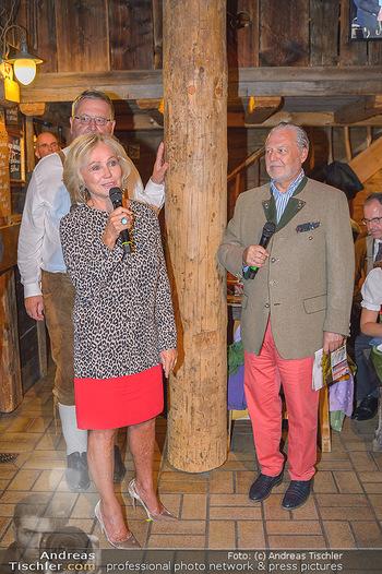Weinverkostung - Böglalm, Alpbach - Mi 28.08.2019 - Kathryn HALL, Wolfgang ROSAM118