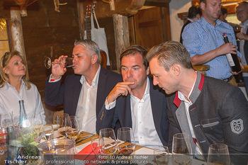 Weinverkostung - Böglalm, Alpbach - Mi 28.08.2019 - Peter BOSEK, Rainer NOWAK, Gernot BLÜMEL147