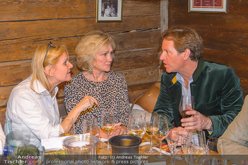 Weinverkostung - Böglalm, Alpbach - Mi 28.08.2019 - Elisabeth KAMPER, Kathryn HALL, Trevor D. TRAINA189