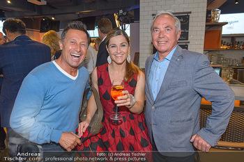 Champions Sports Bar Reopening - Vienna Marriott Hotel - Mo 02.09.2019 - Hans ENN, Elisabeth Lizz GÖRGL, Karl SCHRANZ3