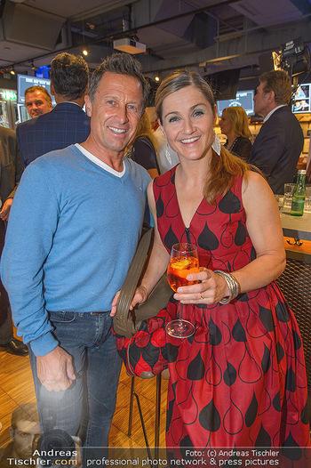 Champions Sports Bar Reopening - Vienna Marriott Hotel - Mo 02.09.2019 - Hans ENN, Elisabeth Lizz GÖRGL5