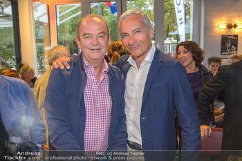 Champions Sports Bar Reopening - Vienna Marriott Hotel - Mo 02.09.2019 - Herbert PROHAKSA, Rainer PARIASEK11