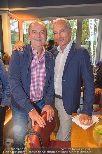 Champions Sports Bar Reopening - Vienna Marriott Hotel - Mo 02.09.2019 - Herbert PROHAKSA, Rainer PARIASEK12