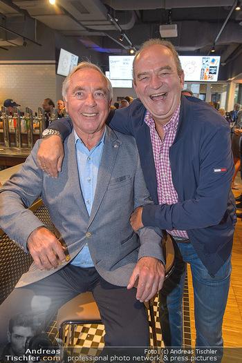Champions Sports Bar Reopening - Vienna Marriott Hotel - Mo 02.09.2019 - Herbert PROHAKSA, Karl SCHRANZ13