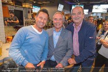 Champions Sports Bar Reopening - Vienna Marriott Hotel - Mo 02.09.2019 - Herbert PROHAKSA, Karl SCHRANZ, Hans ENN14