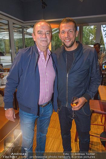 Champions Sports Bar Reopening - Vienna Marriott Hotel - Mo 02.09.2019 - Herbert PROHASKA, Michael GIGERL17