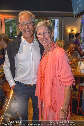 Champions Sports Bar Reopening - Vienna Marriott Hotel - Mo 02.09.2019 - Gerhard ZADROBILEK, Trixi SCHUBA18