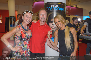 Diego Maradona Doku - Lugner Kinocity - Di 03.09.2019 - Christina LUGNER, Heribert KASPER, Yvonne RUEFF1