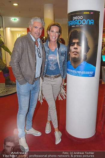 Diego Maradona Doku - Lugner Kinocity - Di 03.09.2019 - Kathi STUMPF, Alex BEZA4