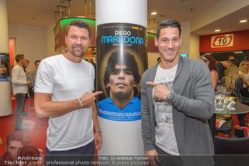 Diego Maradona Doku - Lugner Kinocity - Di 03.09.2019 - Markus KATZER, Helge PAYER6
