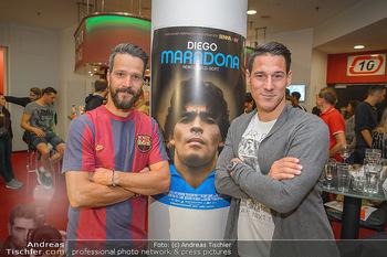 Diego Maradona Doku - Lugner Kinocity - Di 03.09.2019 - Oliver LEDERER, Helge PAYER10