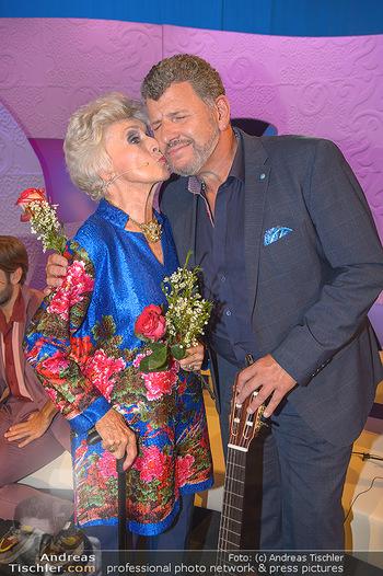 20 Jahre Barbara Karlich Show - ORF Zentrum - Di 03.09.2019 - Semino ROSSI, Waltraud HAAS4