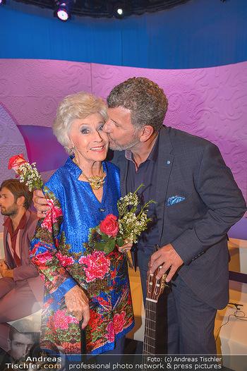 20 Jahre Barbara Karlich Show - ORF Zentrum - Di 03.09.2019 - Semino ROSSI, Waltraud HAAS5