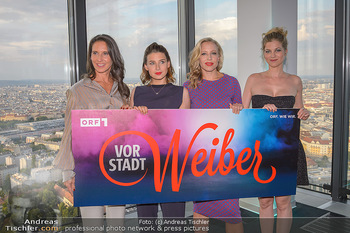 Vorstadtweiber Fototermin - ThirtyFive Vienna Twin Towers - Do 05.09.2019 - Maria KÖSTLINGER, Martina EBM, Nina PROLL, Hilde DALIK1