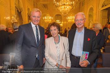 Maria Lassnig Ausstellungseröffnung - Albertina Wien - Do 05.09.2019 - Klaus Albrecht SCHRÖDER, Karlheinz und Agnes ESSL1