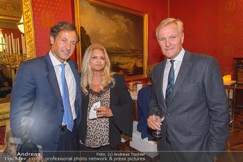 Maria Lassnig Ausstellungseröffnung - Albertina Wien - Do 05.09.2019 - Christoph LA GARDE mit Ehefrau, Klaus Albrecht SCHRÖDER11