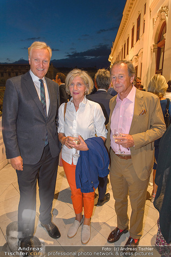 Maria Lassnig Ausstellungseröffnung - Albertina Wien - Do 05.09.2019 - Klaus Albrecht SCHRÖDER, Xenia HAUSNER mit Ehemann Lothar WESEM15