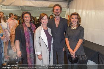 Fashion Week Opening - MQ Museumsquartier, Wien - Mo 09.09.2019 - Marcel OSTERTAG, Doris SCHMIDAUER, Brigitte BIERLEIN, Veronica K1