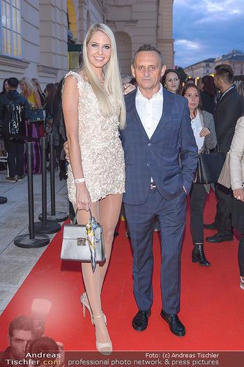 Fashion Week Opening - MQ Museumsquartier, Wien - Mo 09.09.2019 - Beatrice KÖRMER, Heimo TURIN14