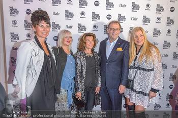 Fashion Week Opening - MQ Museumsquartier, Wien - Mo 09.09.2019 - Elvyra GEYER, Zigi MÜLLER-MATYAS und Maria OBERFRANK, Christian36