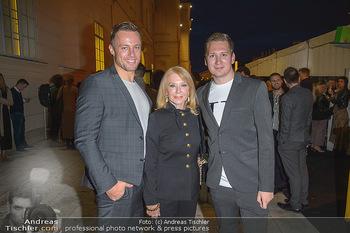 Fashion Week Opening - MQ Museumsquartier, Wien - Mo 09.09.2019 - Clemens TRISCHLER, Gerda ROGERS, Daniel CHYTRA39