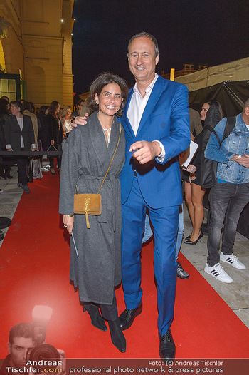 Fashion Week Opening - MQ Museumsquartier, Wien - Mo 09.09.2019 - Andreas Mailath POKORNY, Sonja CATO46