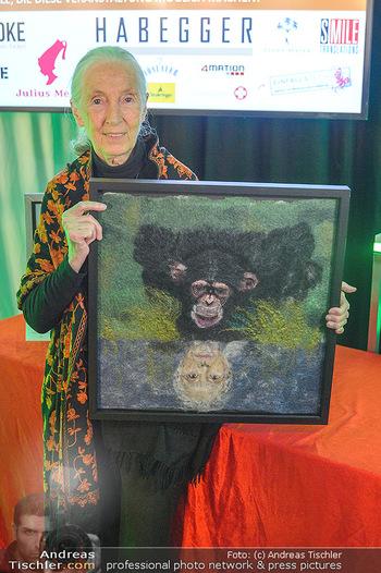 Jane Goodall Speech - Meinl´s Rösthalle - Di 10.09.2019 - Jane GOODALL8