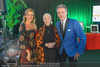 Jane Goodall Speech - Meinl´s Rösthalle - Di 10.09.2019 - Alfons HAIDER, Ina SABITZER, Jane GOODALL18