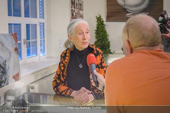 Jane Goodall Speech - Meinl´s Rösthalle - Di 10.09.2019 - Jane GOODALL im Interview mit Günter LÖFFELMANN21
