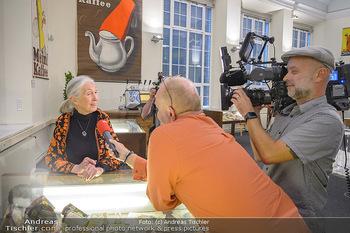 Jane Goodall Speech - Meinl´s Rösthalle - Di 10.09.2019 - Jane GOODALL im Interview mit Günter LÖFFELMANN22