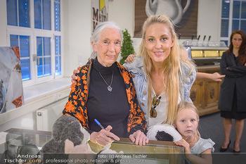 Jane Goodall Speech - Meinl´s Rösthalle - Di 10.09.2019 - Jane GOODALL, Lilian KLEBOW (fremdes Kind)25