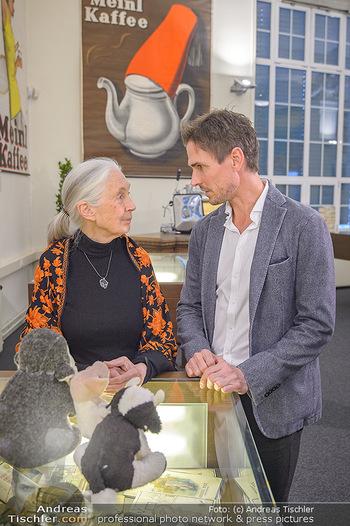 Jane Goodall Speech - Meinl´s Rösthalle - Di 10.09.2019 - Jane GOODALL, Felix GOTTWALD32