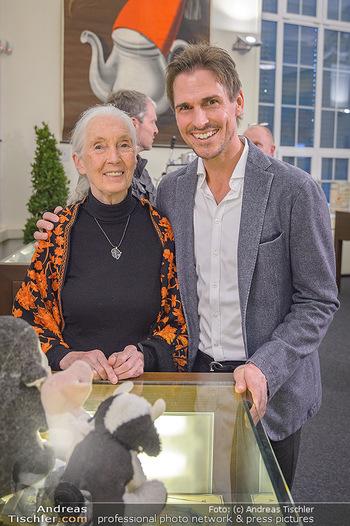Jane Goodall Speech - Meinl´s Rösthalle - Di 10.09.2019 - Jane GOODALL, Felix GOTTWALD33