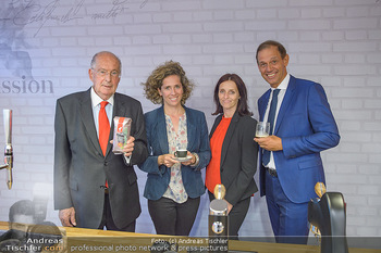 Jane Goodall Speech - Meinl´s Rösthalle - Di 10.09.2019 - Thomas und Christina MEINL, Renata PETOVSKA, Marcel LÖFFLER36