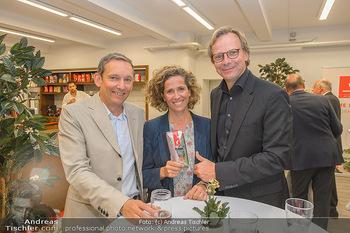 Jane Goodall Speech - Meinl´s Rösthalle - Di 10.09.2019 - Gerhard SCHALLER, Christina MEINL, Andreas BIERWIRTH40